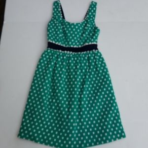Judith March sundress large polka dots